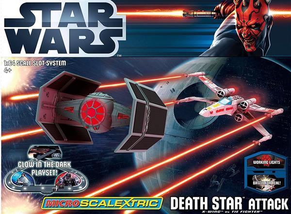 PISTA STAR WARS DEATH STAR ATTACK