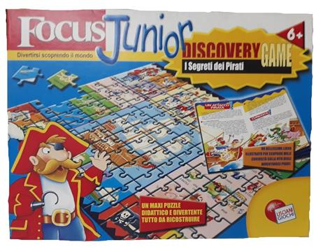 DISCOVERY GAME PIRATI FOCUS