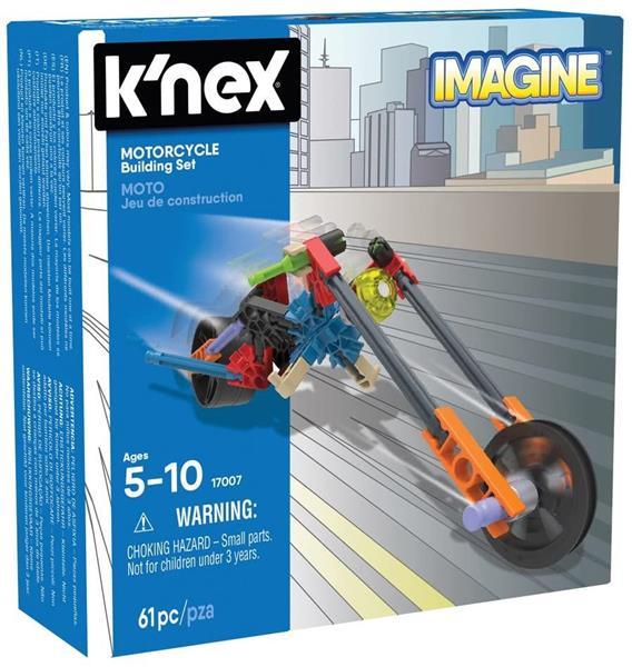 K'NEX IMAGINE MOTORCYCLE 61 PZ.5/10 ANNI