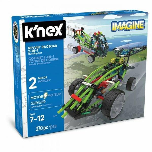 K'NEX IMAGINE REVVIN RACER 370 PZ.CMOTOR