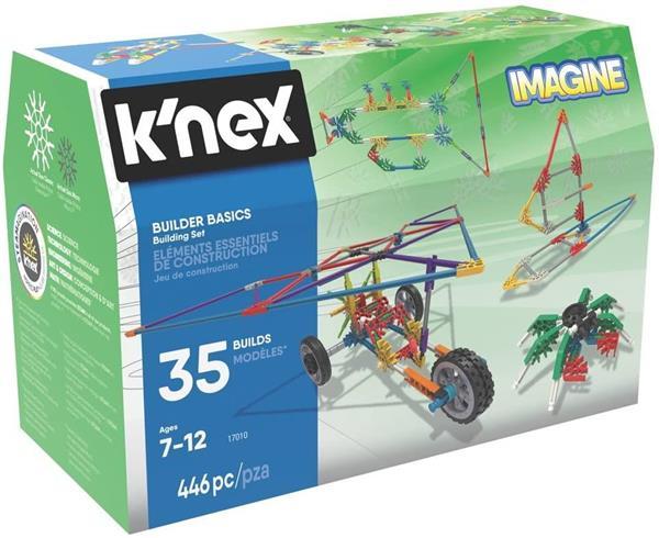 K'NEX IMAGINE 35 MODELLI 446PZ.7/12 ANNI
