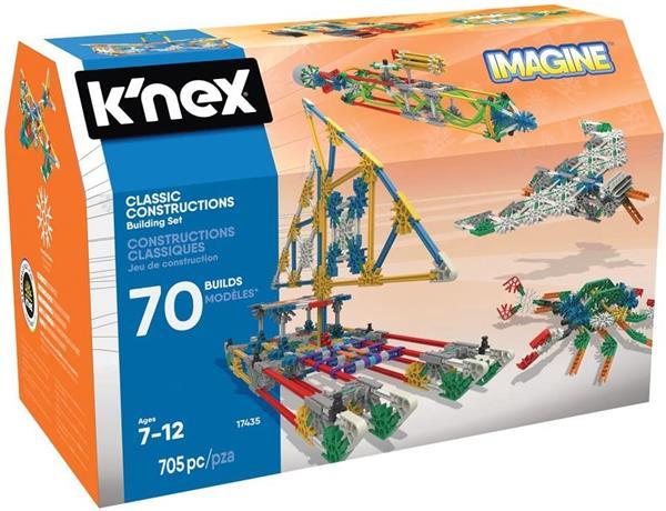 K'NEX IMAGINE 70 MODELLI 705PZ. 7/12 ANNI
