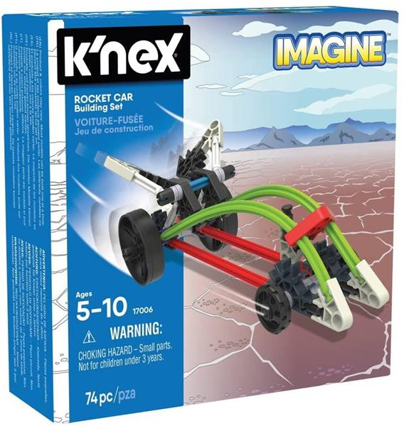 K'NEX IMAGINE CAR 74 PZ.5/10 ANNI