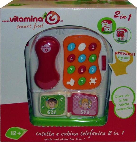 CASETTA E CABINA TELEF.2IN1