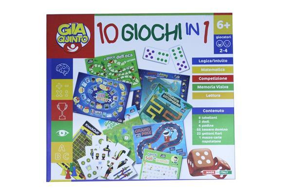 GIOCO 10 GIOCHI RIUNITI