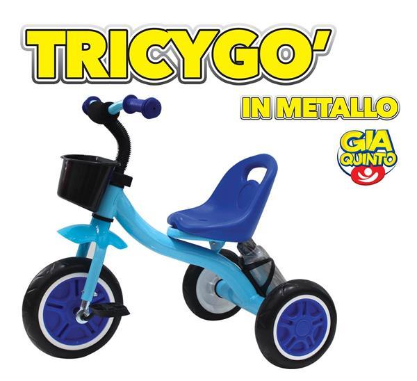 TRICYGO' BLU METALLO